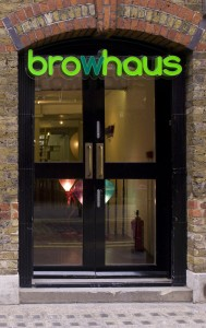 Browhaus outside