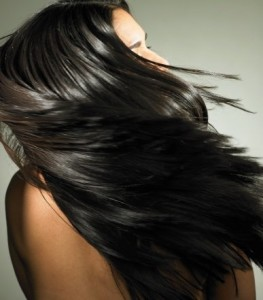 healthy shiny hair from the inside out
