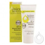 ANOTHER GORGEOUS GIVEAWAY – JUICE BEAUTY SPF 30 MINERAL SHEER MOISTURIZER
