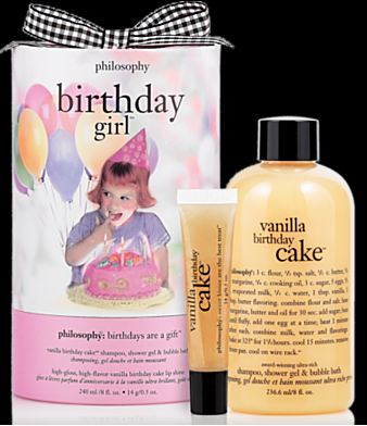 Beauty Review Philosophy Vanilla Birthday Cake Gift Png 338x392 Happy