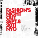 THE PARTY'S ON – FASHION'S NIGHT OUT IN NEW YORK CITY