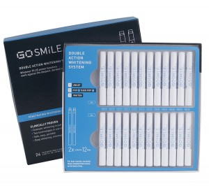 GO SMiLE Double Action Teeth Whitening System with 24 Ampoules a218279