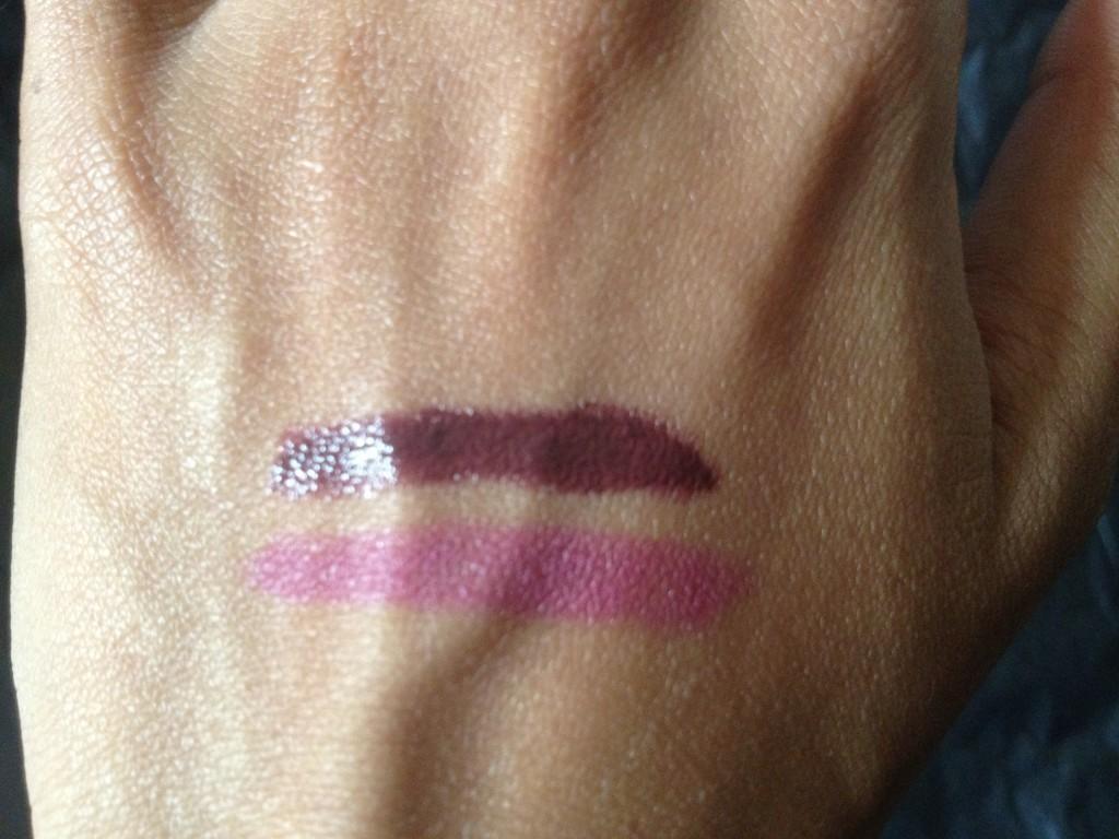 NARS Velvet Lip Pencil and Urban Decay Super Saturated Lip Pencil