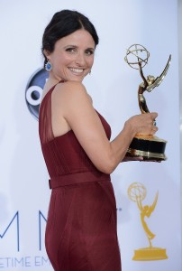 Julia Louis-Dreyfus at the 2012 Emmy Awards