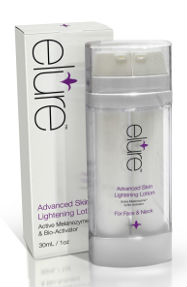 elure skin brightening lotion