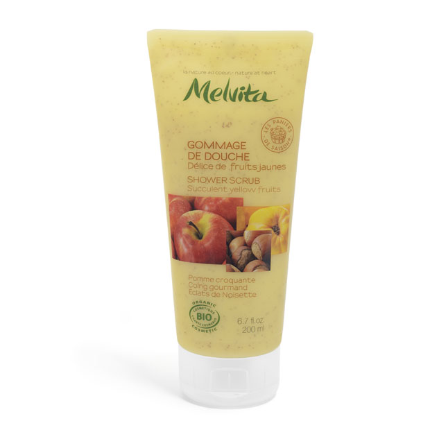 Melvita Golden Delicious Body scrub