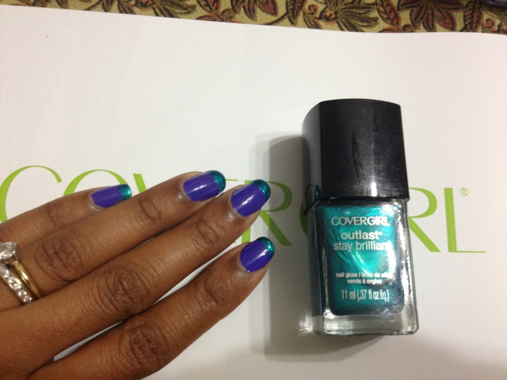 Covergirl Outlast No Top Coat Base Coat Stay Brilliant Nail Gloss
