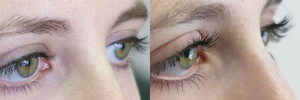 Before and after City Lash treatment. Photo Credit: City Lash