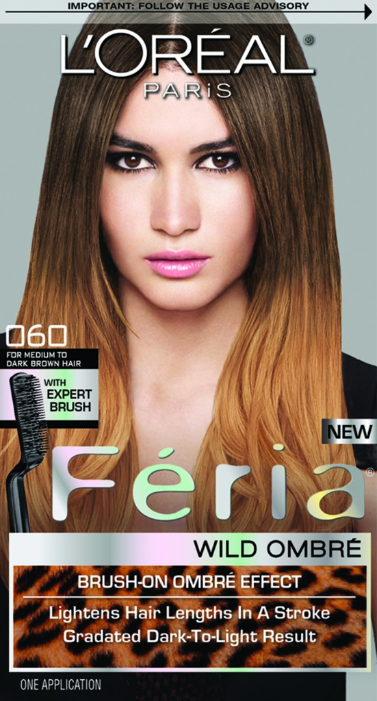 L'Oreal Paris Feria Wild Ombre in O60 For Medium to Dark Brown Hair