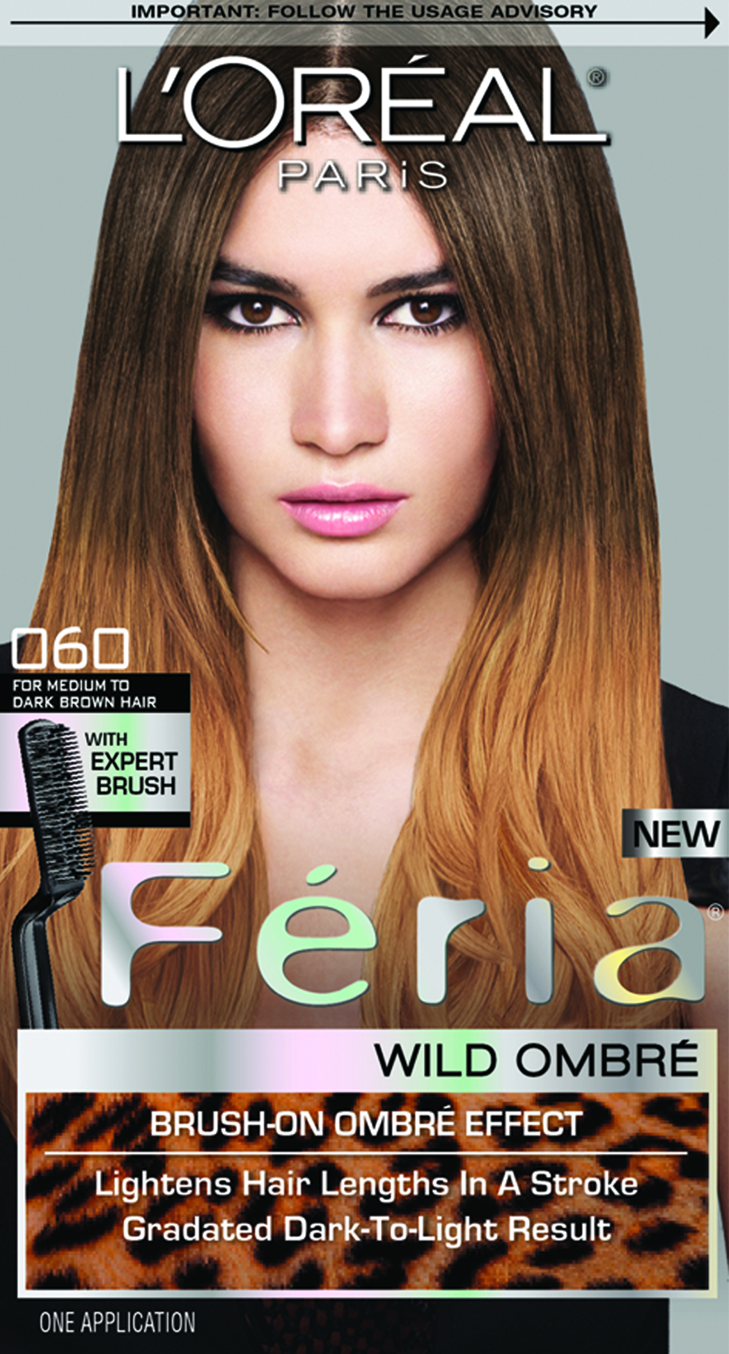 Oreal Paris Feria Wild Ombre In O60 For Medium To Dark Brown Hair