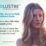 LUSTRE PURE LIGHT LAUNCHES ONLINE ACNE COMMUNITY