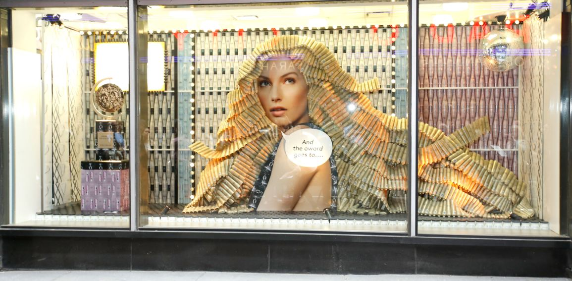 Nexxus Window Display