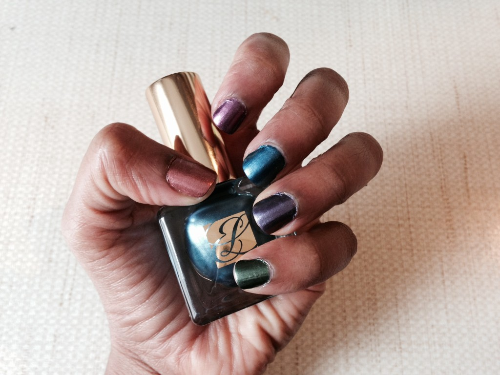 Estee Lauder Pure Color Metallics Nail Lacquer Swatches