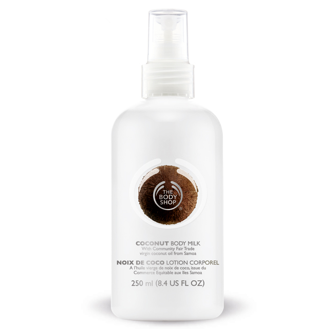 Coconut Milk The Body Shop