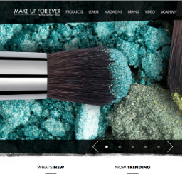 Make-Up-For-Ever-Website