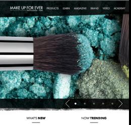 Make-Up-For-Ever-Website