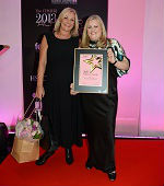 Achiever Tracey Woodward with OBE's Kim Winser