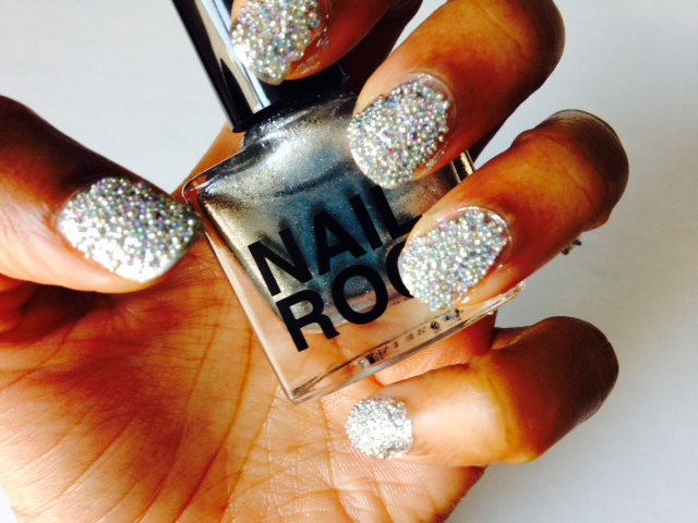 Nail Rock Caviar Nail Swatch