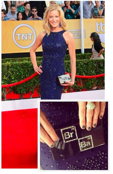 Anna Gunn Breaking Bad Duri Cosmetics Nails SAG Awards