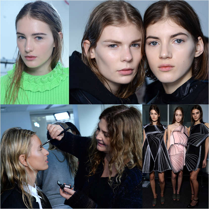 Christopher Kane NARS Backstage Fall Winter 2014