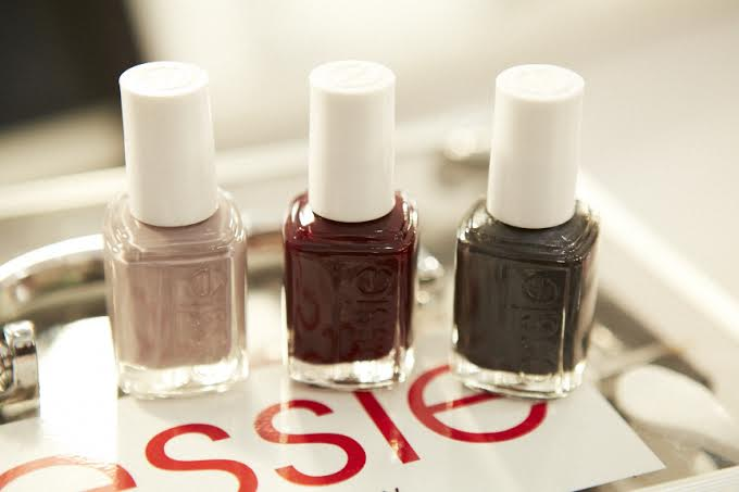 Nanette Lepore essie nails fall winter 2014