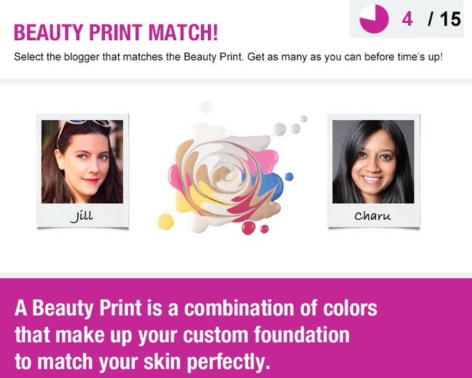 Beauty Print Game Prescriptives