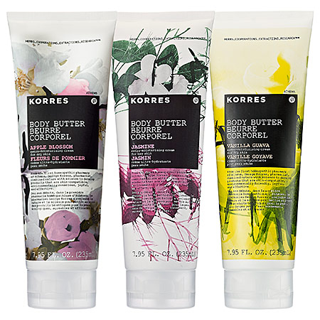Korres Aromatic Body Butters
