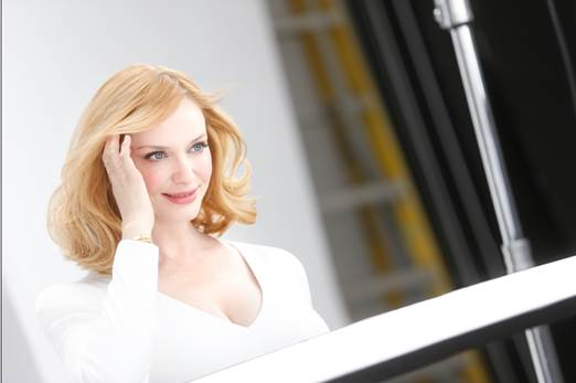 Christina Hendricks (credit: Clairol)