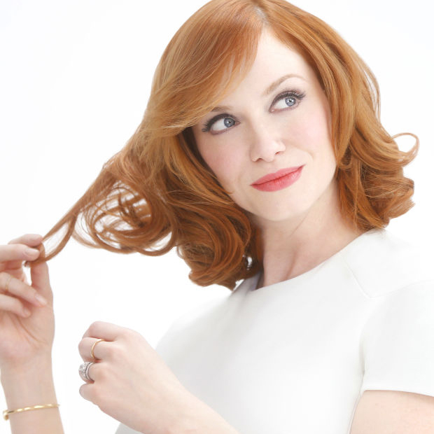 Christina Hendricks blonde clairol