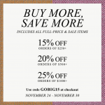 SPONSORED – SHOPBOP IS HAVING A MEGA PRE-HOLIDAY SALE!
