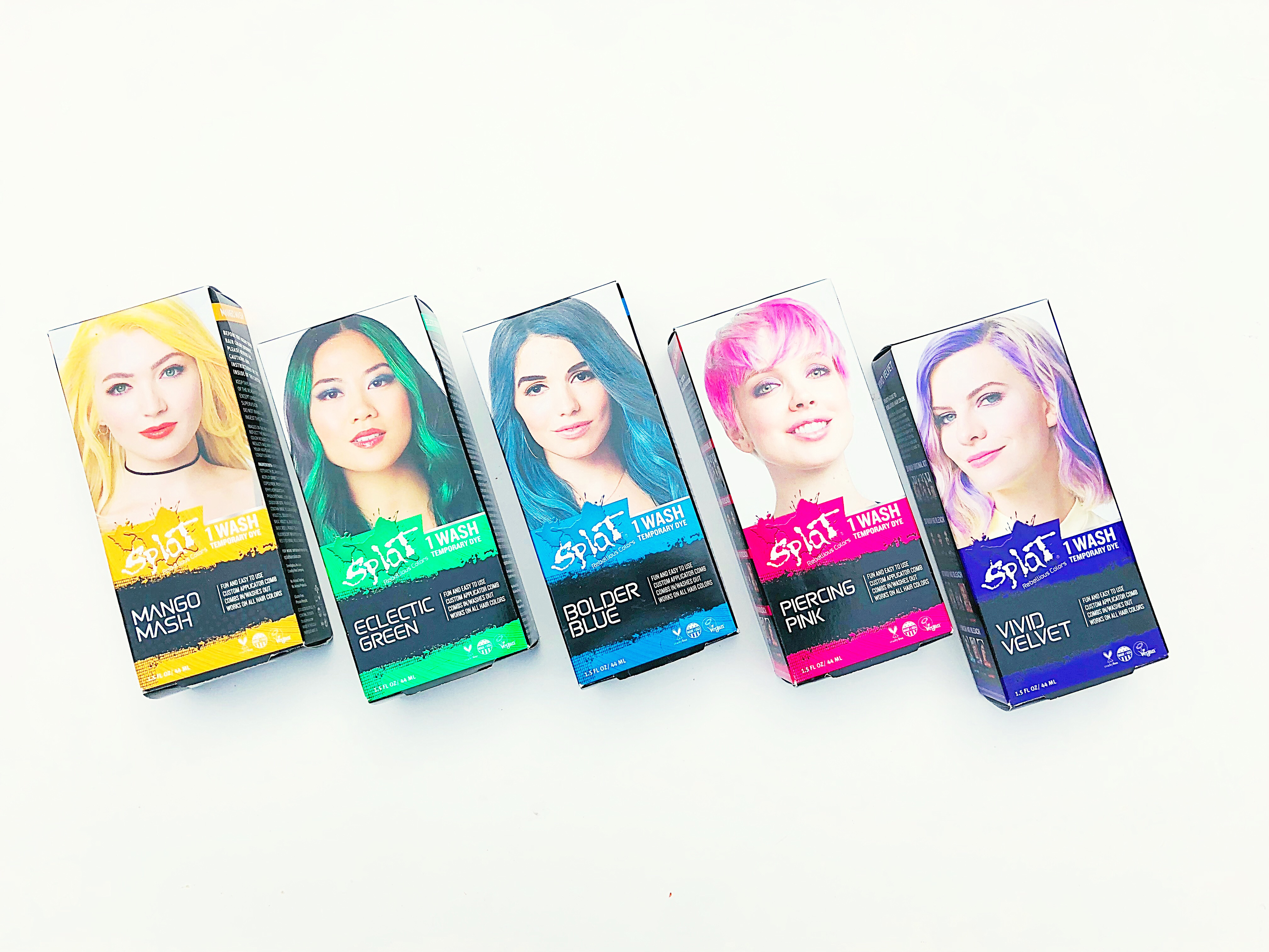 Sponsored Gorgeous Giveaway Splat Hair Color